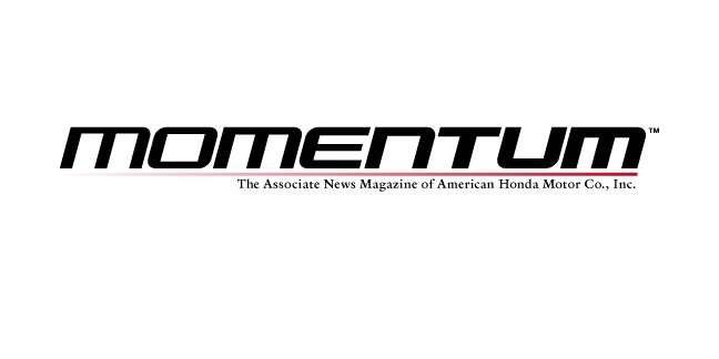 Honda Momentum Masthead Study
