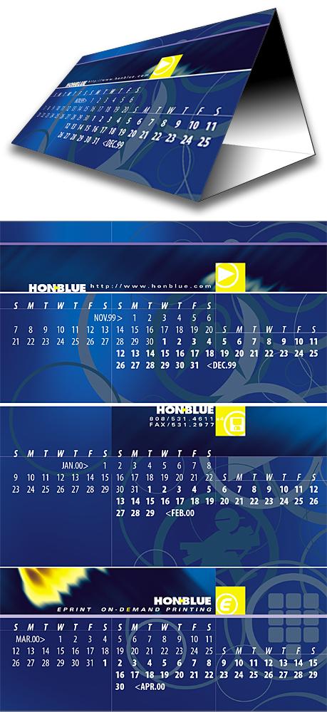 HonBlue Calendar1